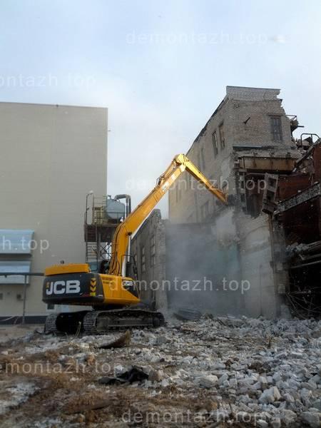 Промышленный демонтаж, демонтаж заводов, фабрик, ангаров, складов, цехов, зданий и сооружений любой сложности3